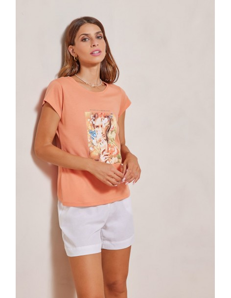 ENZZO T-shirt fresh start 211036-1