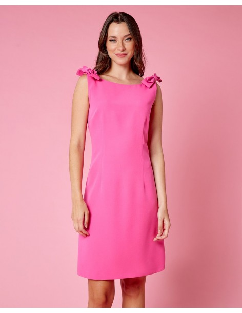 FOREL By VASSILIS ZOULIAS Φόρεμα με φιόγκους στους ώμους 072.50.02.045