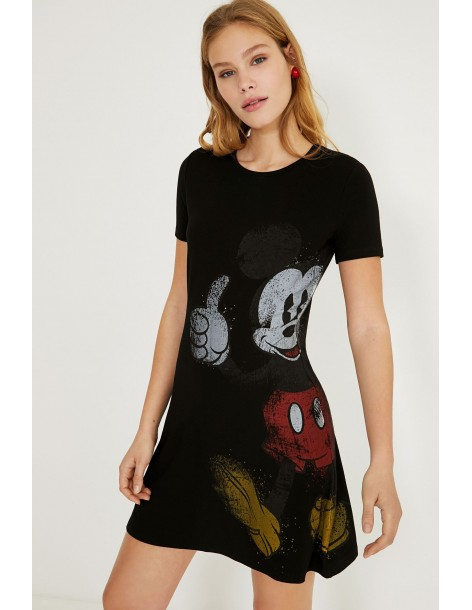 DESIGUAL Mickey Mouse dress 21SWVKAY-2000