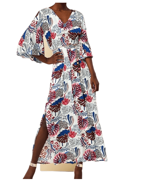 FOREL Φόρεμα μάξι εμπριμέ 072.50.01.006 multi